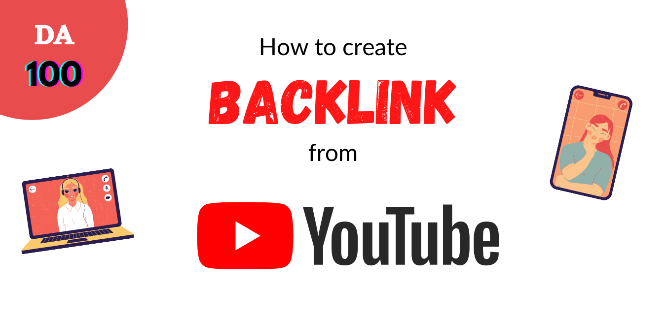 How to get backlink from Youtube